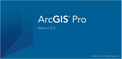 The next Generation desktop GIS: ArcGIS Pro 2.0